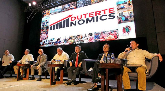 Dutertenomics: Economic Banner of Duterte Administration